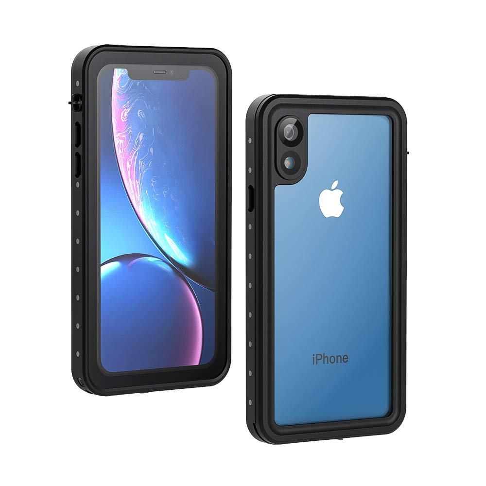 detailed look 61352 63de5 Lanhiem iPhone XR Waterproof Case - Black